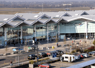Roadworks at Birmingham Airport to cause disruption until May