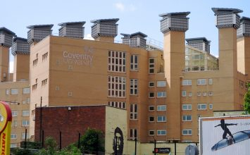 Coventry rated 39th best student city in the world