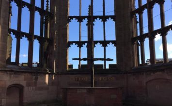 Do you fancy working at Coventry Cathedral for up to £17k a year?