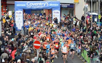 Review of the amazing Coventry 2017 Half Marathon