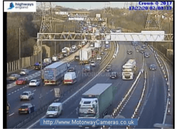 Nearly two months of travel disruption is coming for M6 commuters