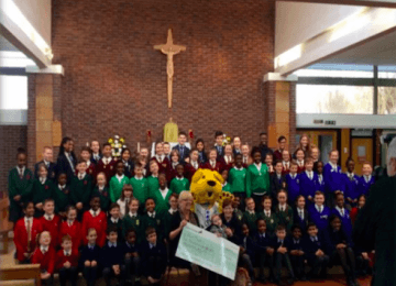 Eight Coventry schools team up to raise over £4700 for Zoë's Place Baby Hospice