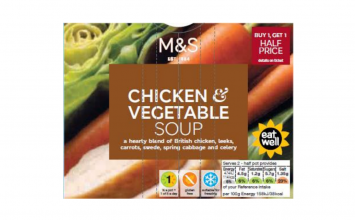 "M&S recalls soup over ""possible chemical contamination"""
