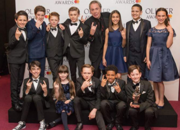 Coventry schoolboy Oscar scoops Olivier award for his performance in Lloyd Webber musical