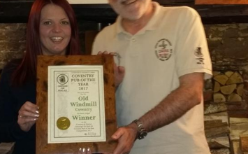 Coventry pub awarded top real ale prize