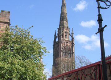 Coventry cathedral tower reopens