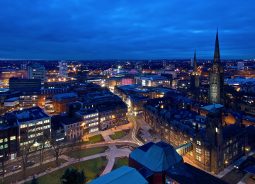 Coventry named one of top ten best cities for raising a child