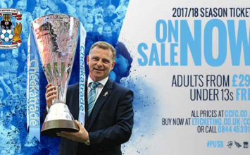 Sky Blues pleased as season ticket sales top 3,000