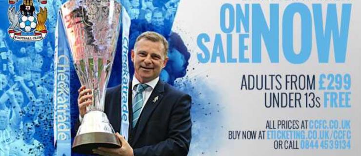 Sky Blues pleased as season ticket sales top 3,000
